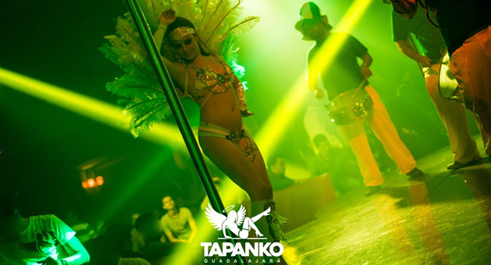 tabledance stripclub in Guadalajara